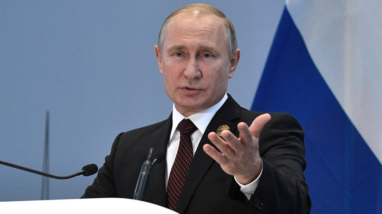 普京(图:莫斯科时报)