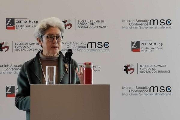 傅莹:欧洲作为中美之外的第三方力量,对本世纪的方向有很大的选择权