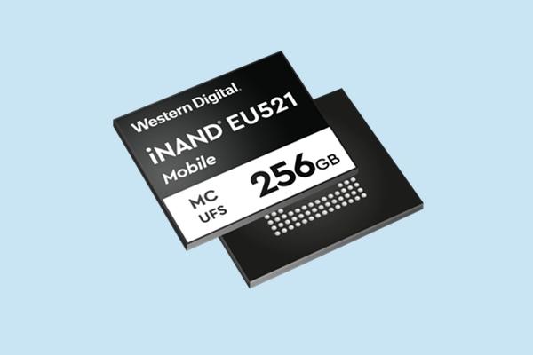 5G手机绝配!西数发布UFS 3.1闪存:写速可达800MB/s,品名iNAND MC EU521