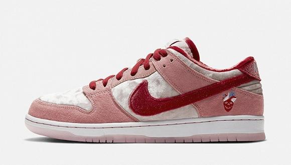 一周运动新品|情人节主题DunkSB质感加持,首款Yeezy篮球鞋将发售