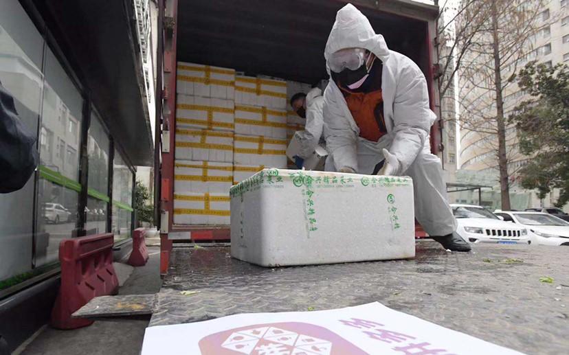 拼多多100吨蔬果送武汉4家医院食堂保障4600名医护一个月所需
