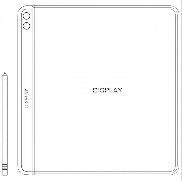华为Mate Xs折叠屏专利曝光 搭载后置四摄+手写笔