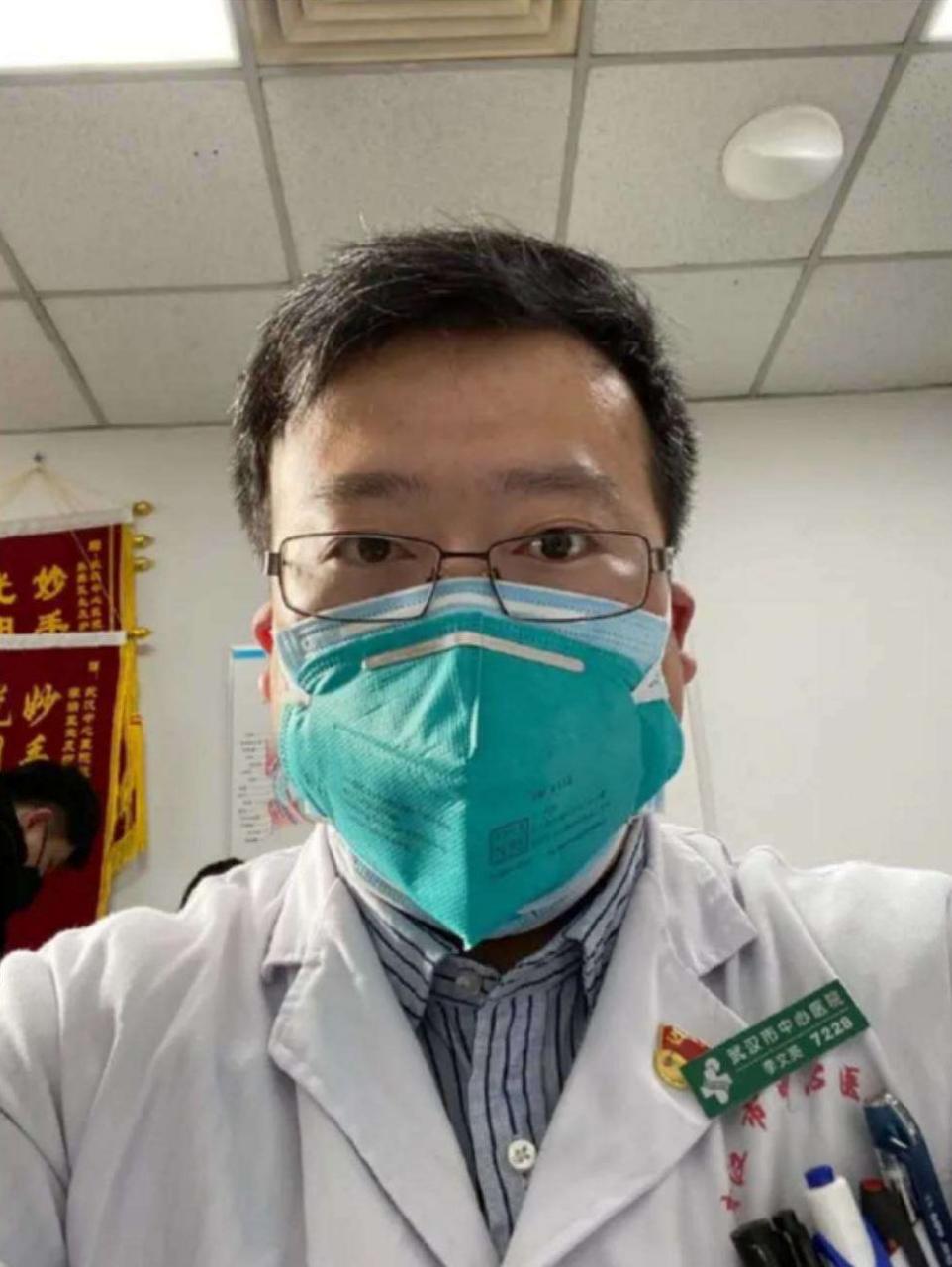 (武汉市中心医院医生李文亮)