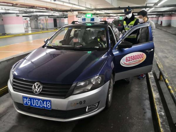 本文图片均由 上海市交通委执法总队 供图