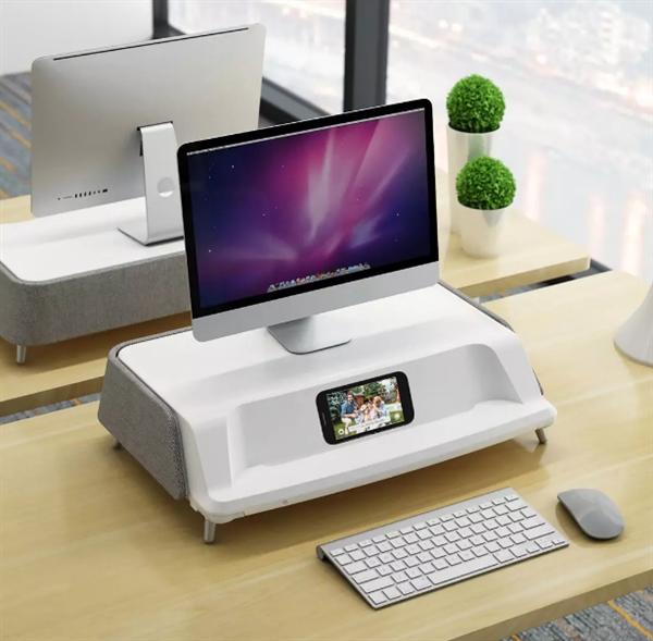 小米有品上架办公显示器增高杀菌消毒台 提供10分钟定时杀菌消毒功能