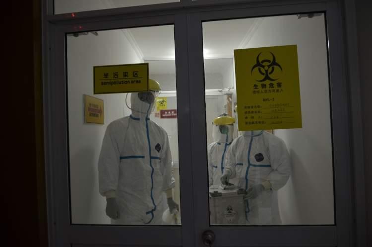 金山区疾控中心实验室