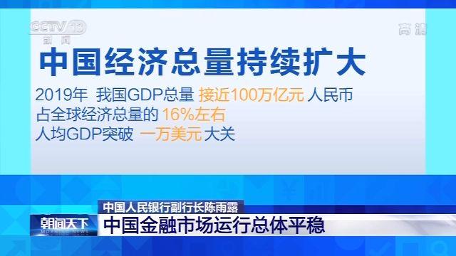 """""""中国人民银行副行长:中国金融体系应对风险有韧性"""