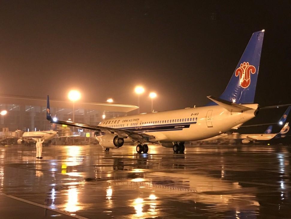大年三十,南航广州-武汉CZ5241航班星夜首航