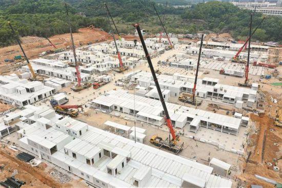 深圳:千张床位院区20天建成