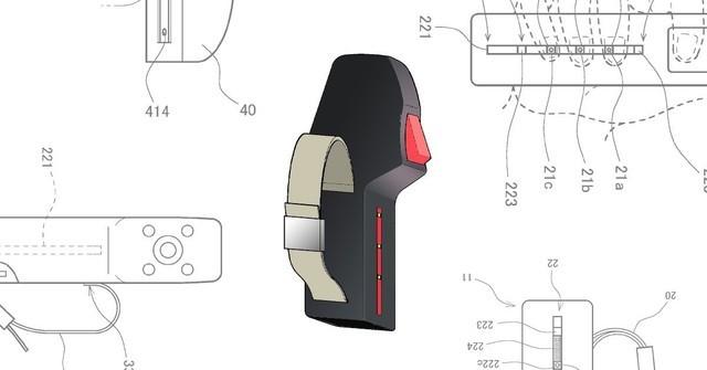 WIPO 日前公开了 Sony 所申请的一项控制器专利文件:VR控制器长这样
