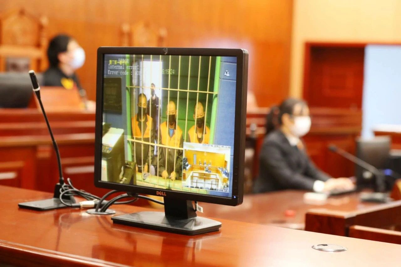 宣判现场。法院供图