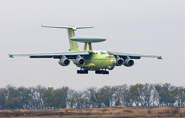 俄罗斯A-100预警机采用背负式圆盘组织
