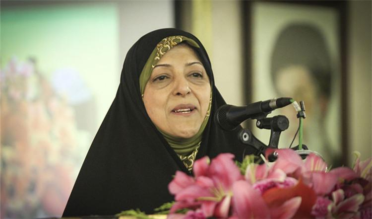 ▲原料照片:伊朗副总统玛苏梅·埃卜特卡尔在伊朗伊斯法罕出席运动|新华社发