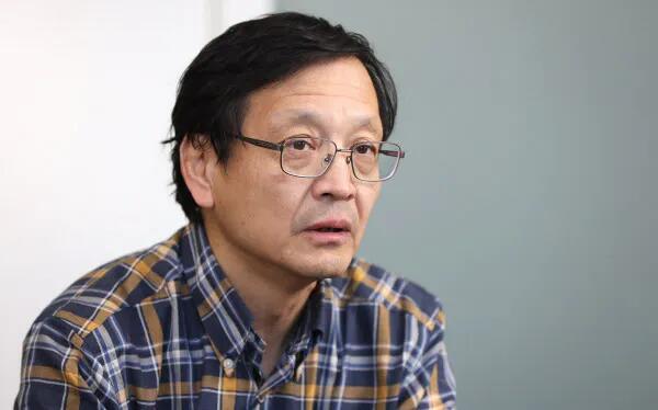 日本东北大学教授 押谷仁(日经音信 图)