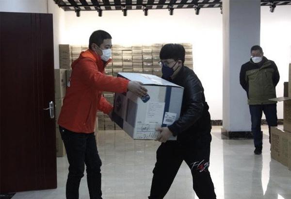 山东潍坊高新区企业解囊援武汉等疫情严重地区