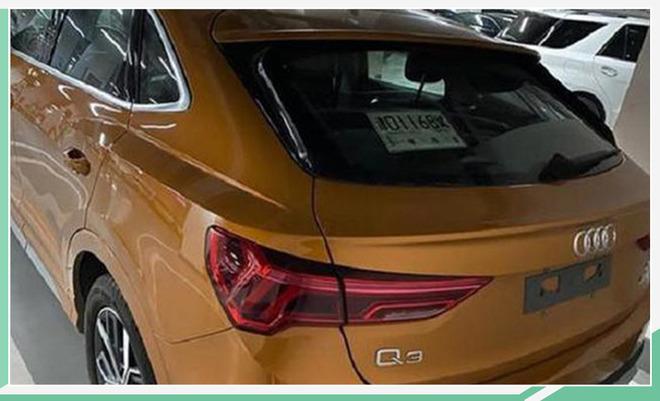 國產全新Q3 Sportback實車曝光 預計4月上市