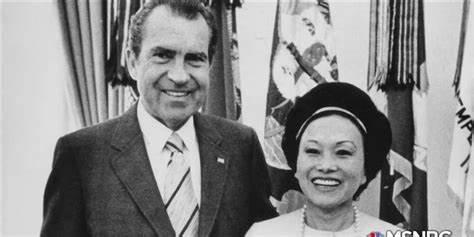尼克松与陈香梅,<a href=