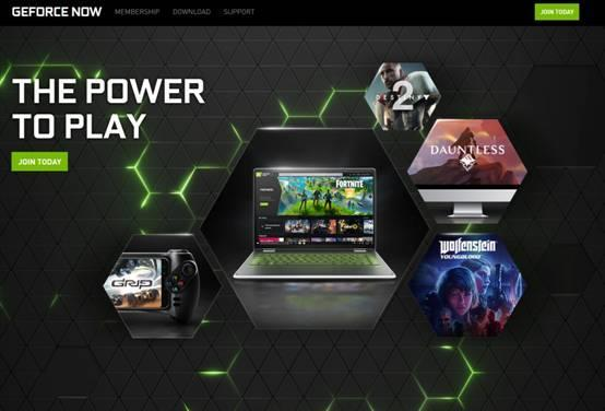 Yingweida geforce now cloud game service ign score: more than Google stadia