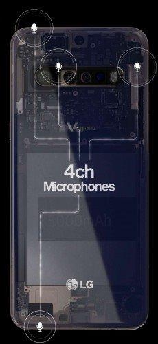 LG V60 ThinQ背面板现身 配备后置四摄+5000mAh电池
