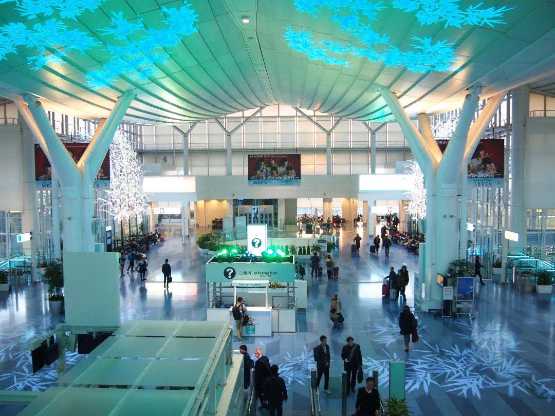 图片来源/日本羽田机场微信公号截图。