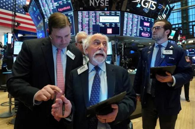 ▲当地时间2020年3月9日,美国纽约证券营业内部场景。(新华社/路透)