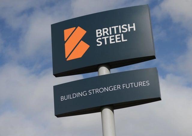 △图为英国钢铁公司