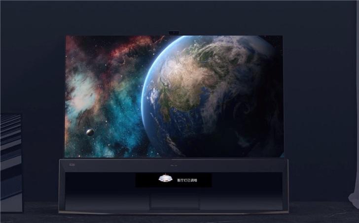 海信发布全球首款8K HDR双屏电视U9