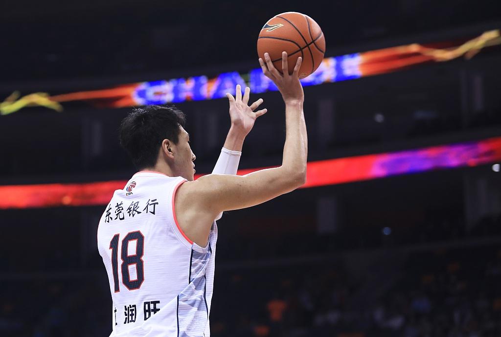 CBA专访杜润旺:最初接触篮球因减肥