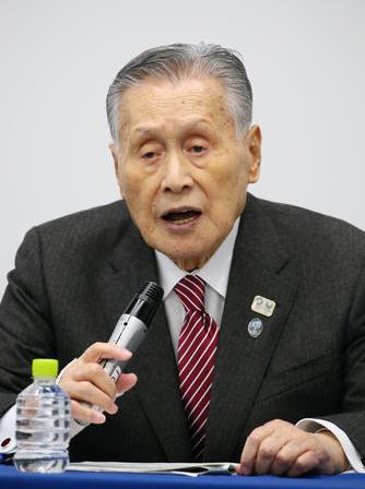 東京奧組委主席森喜朗(每日體育)