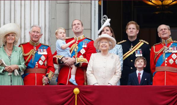 英王室成员(资料图)