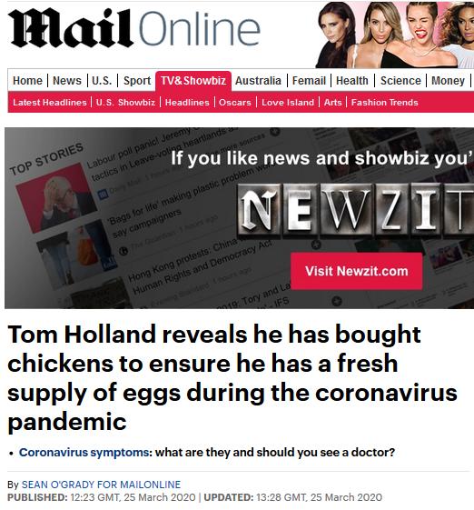 """英国超市鸡蛋被抢空!""""蜘蛛侠""""被逼到养鸡……"""