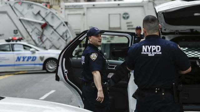纽约警察局552人确诊新冠肺炎 逾4000名警察请病假