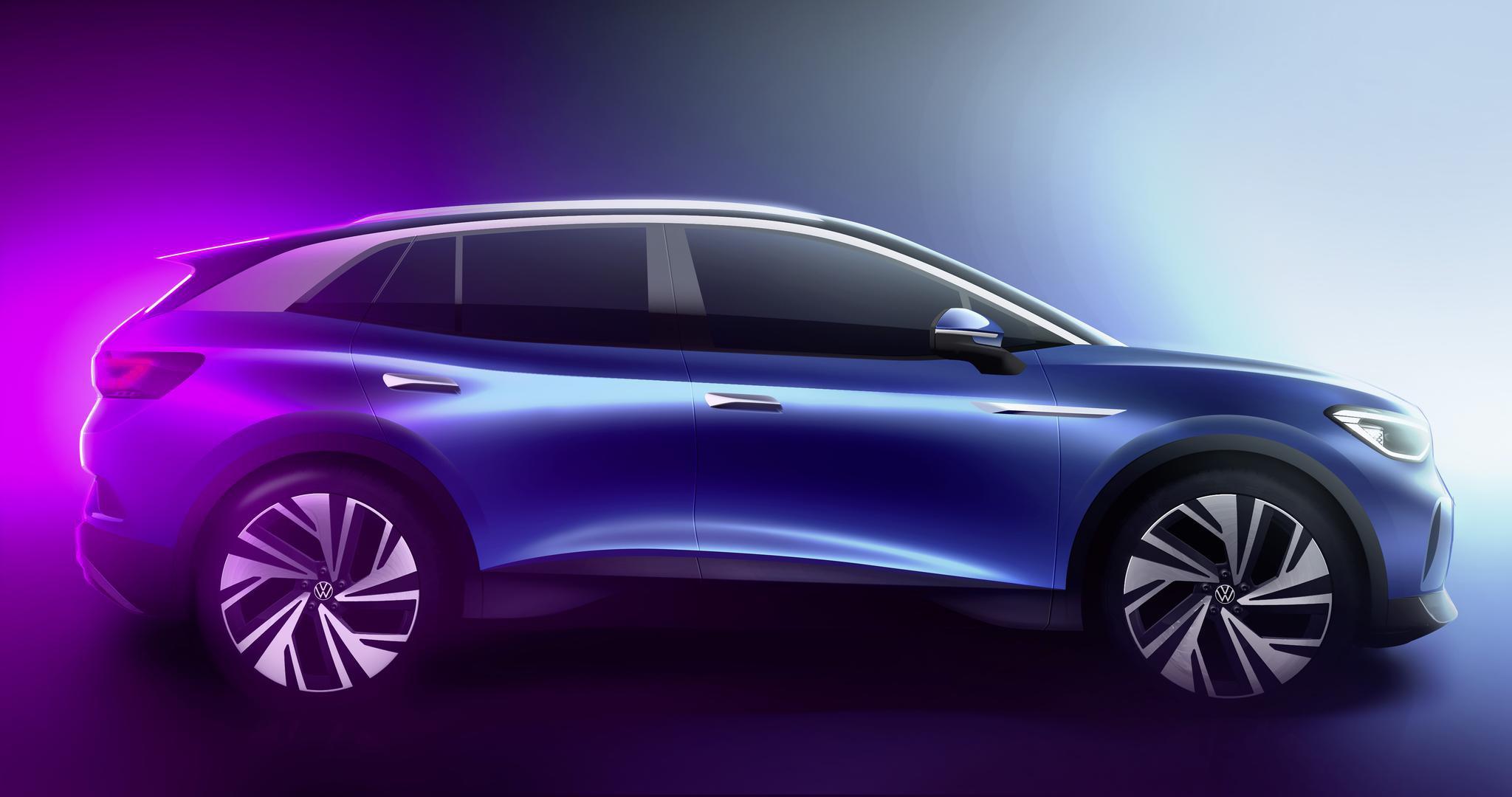 官纯博客_大众汽车线上预展首款纯电动SUV ID.4 | 一线车讯|大众汽车|纯电动 ...