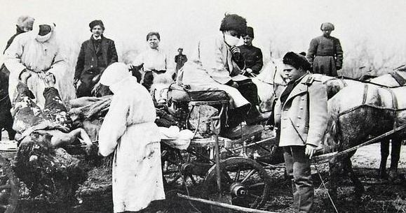 (1910年鼠疫老照片)
