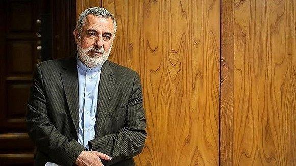 伊朗外交部长扎里夫的前顾问、前驻叙利亚大使谢赫伊斯兰 来源:Twitter