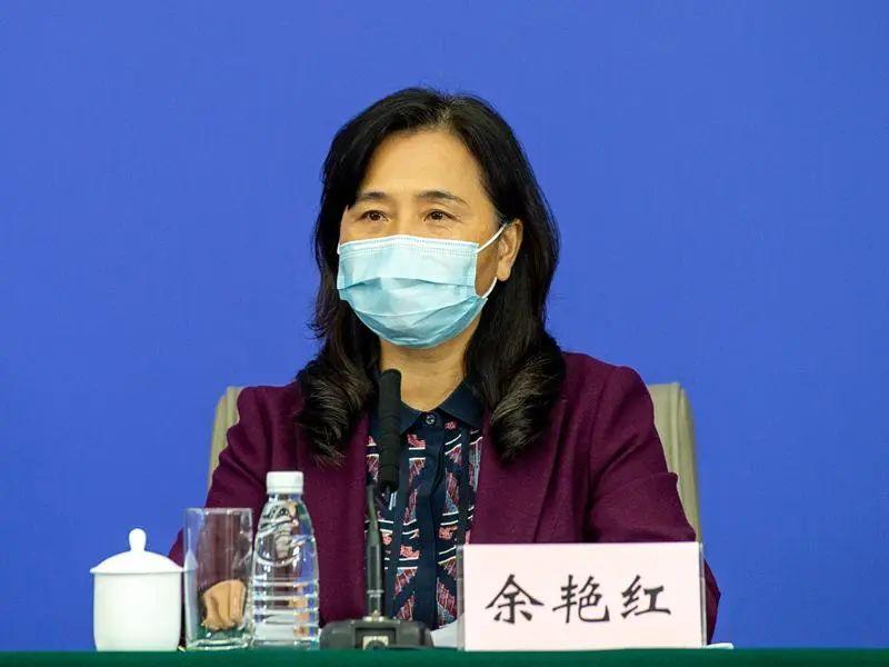 中医药局党组书记余艳红