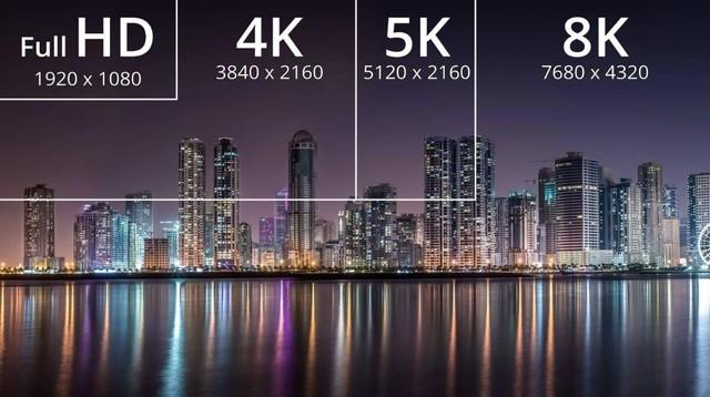 长度1分钟8K视频需194GB空间