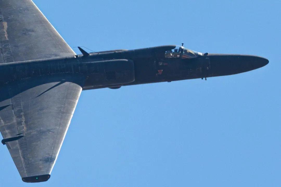 美国U-2高空侦察机资料图,图源:《南华早报》