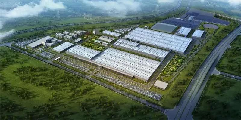 宝能贵州新能源生产基地,占地2277亩(图源:官网)