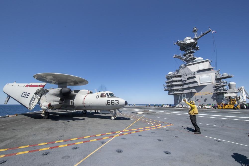 美海军遭疫情重击 在台海南海部署已捉襟见肘