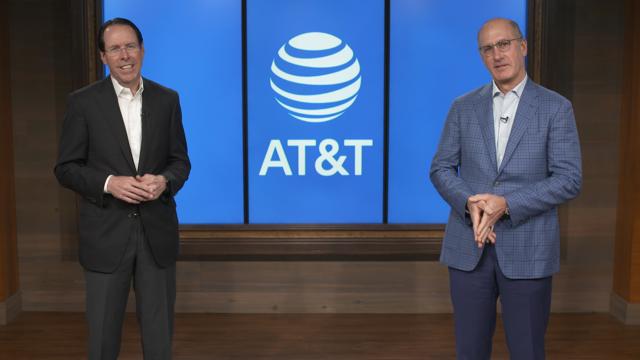 △史蒂芬森(左)与斯坦基(右) 图片来源:AT&T官网