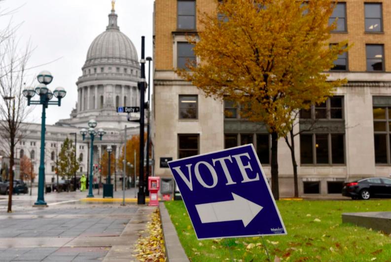 美国威斯康辛州初选投票将准期进走。(图源:路透社)