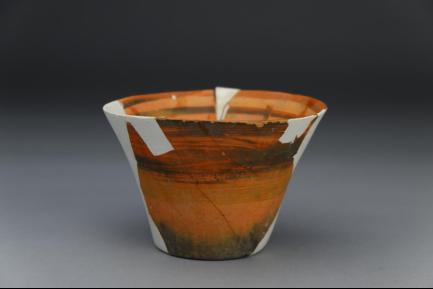 屈家岭式彩陶杯