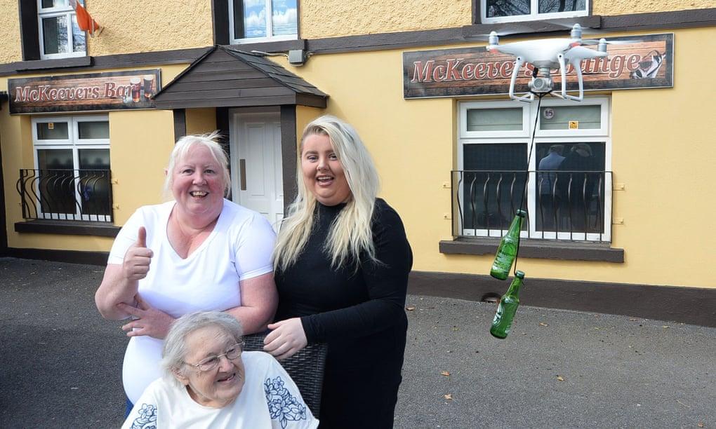 疫情严重冲击爱尔兰酒吧 百年老店欲用无人机送啤酒