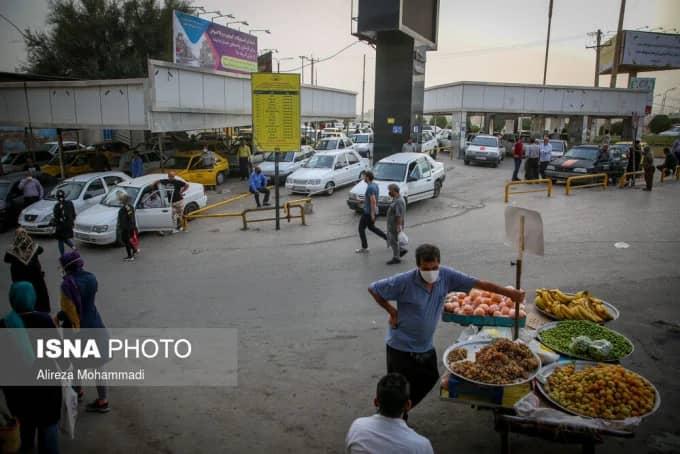 △胡齐斯坦省街景 来源:伊朗学生通讯社