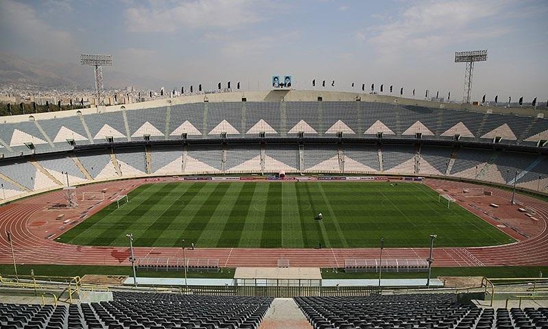 △体育场 来源:伊朗当地媒体