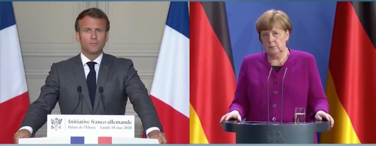 缓解困难!德法联合推出5000亿欧元经济计划纾困欧洲经济