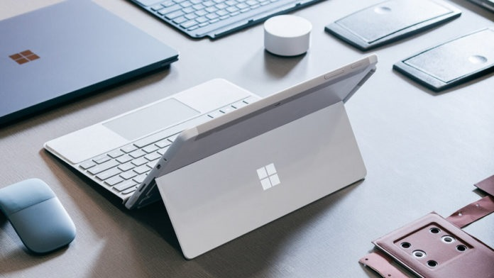 微软Surface Go 2 LTE 通过 FCC 认证,支持 WiFi 6