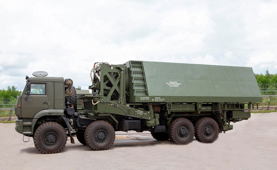 △俄罗斯即将对外出售的可探测高超音速目标的新型雷达及运载车辆