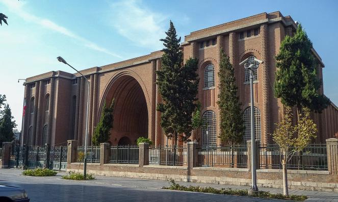△博物館 來源:伊朗當地媒體